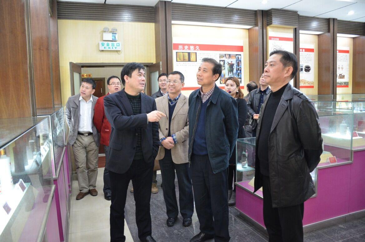 江西省国税局副局长黄中根莅临我司考察