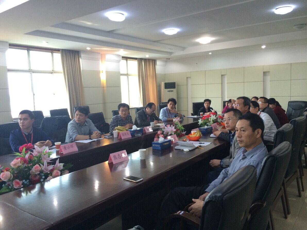 中国食品发酵工业研究院主任郭新光至我司调研指导